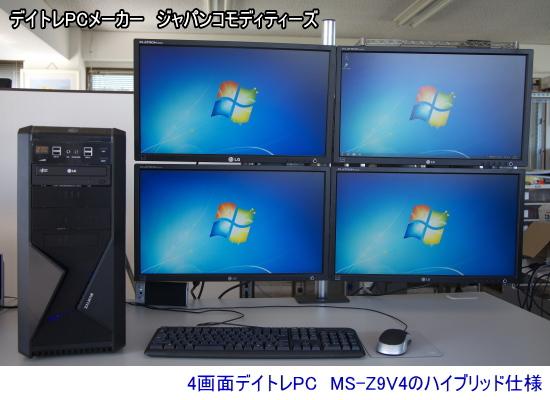 高性能4画面デイトレPC