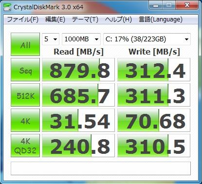 最速SSDをツイン装備